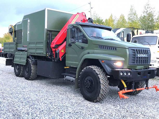 На шасси «Урал NEXT» создан многофункциональный специальный санитарный автомобиль